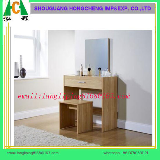 . Melamine MDF MFC Modern Modern Dressing Table Designs for Bedroom