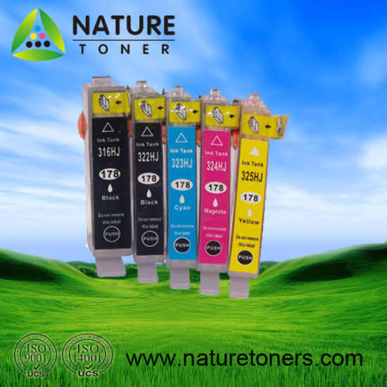 178xl Compatiable Ink Cartridge for HP Printer
