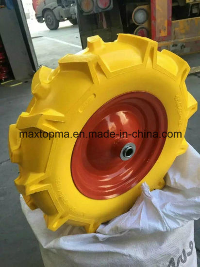 400-8 R1 Pattern Maxtop Solid PU Foam Wheel pictures & photos