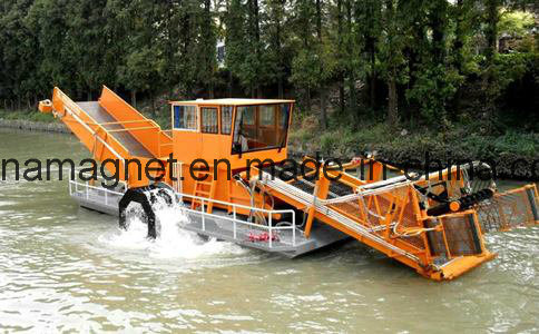 Weed-Cutting Launch and Automatic Mowing and Cleaning Ship for Sea Cleaning pictures & photos