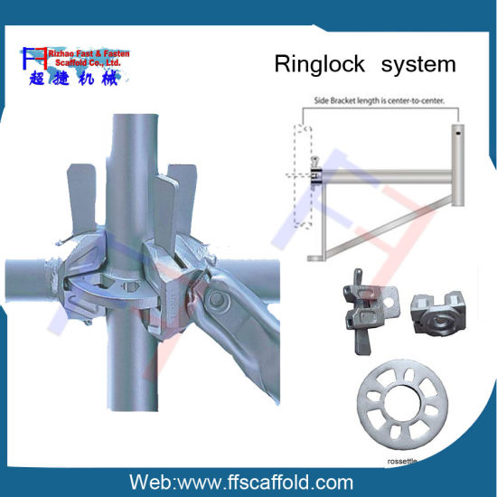 ISO Factory 13 Years Manufacturer and Exporter Ringlock Scaffolding pictures & photos