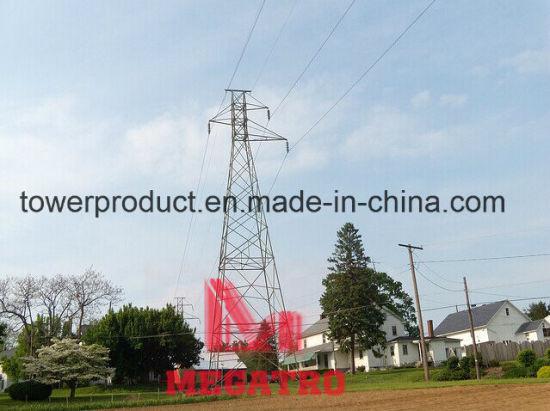 Megatro 66kv Single Circuit Lattice Tower (MGP-SCT66)