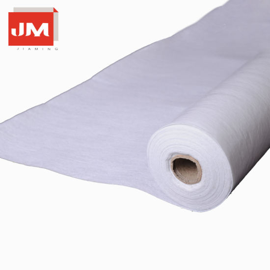 Nonwoven Pet Needle Punched Felt Fleece Laminated with a Waterproof Polyethylene Film White Cover Fleece