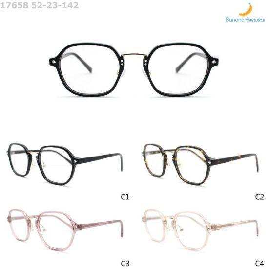 2020 Anti-Blue Light Retro Classic Acetate Eyewear Optical Frame Ready to Ship for Women