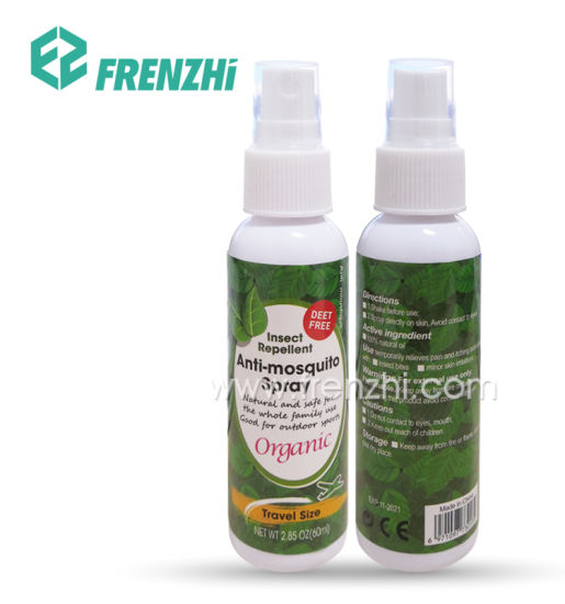 No Deet Sustainable Mosquito Repellent Spray 100% Natural Oil Anti Mosquito Insect Repellent
