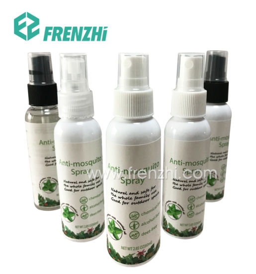 Hot Sale 60/100 Ml Picaridin Mosquito Repellent Spray Natural Insect Repellent