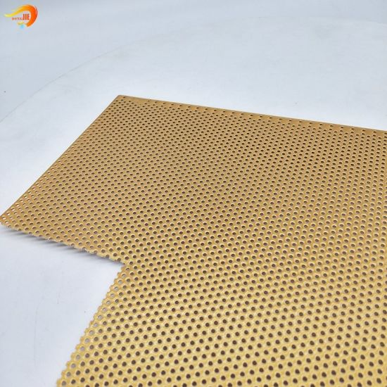 High Quality Small Hole Perforated Metal Mesh