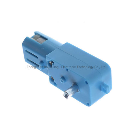 3V-6V 200rpm High Torque Semi-Metal Gear DC Gearbox Motor 1: 90 Single Axis Gear Box pictures & photos