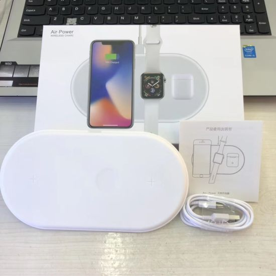 New Hot 3 in 1 Smart Fast Qi Wireless Charger for iPhone and Samsung Air Power Series 2