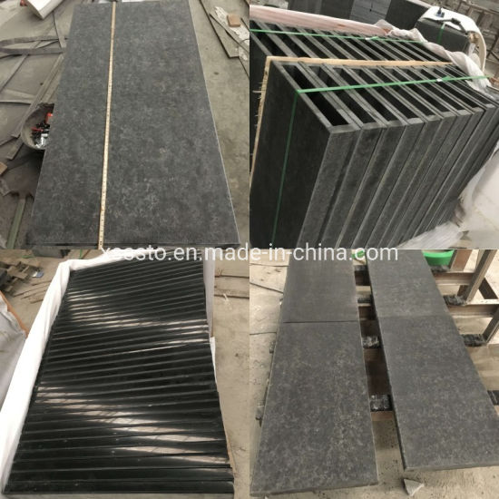 Flamed Black Granite New G684 Floor Tiles/ Wall Clading/ Swimming Coping