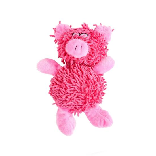 Pink Mop Plush Stuffed Sound Animal Custom Factory Pet Toy
