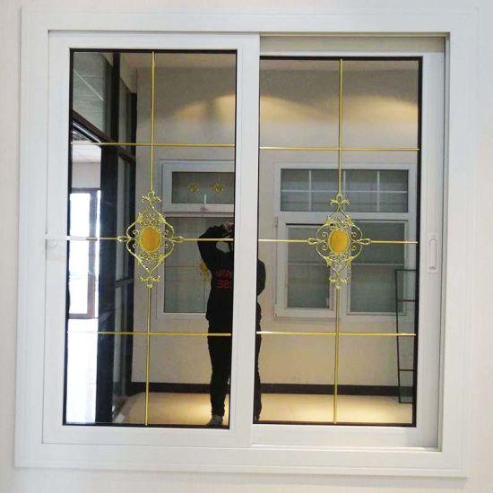 Guangzhou Used PVC Double Glazing Reflective Glass Doors Windows