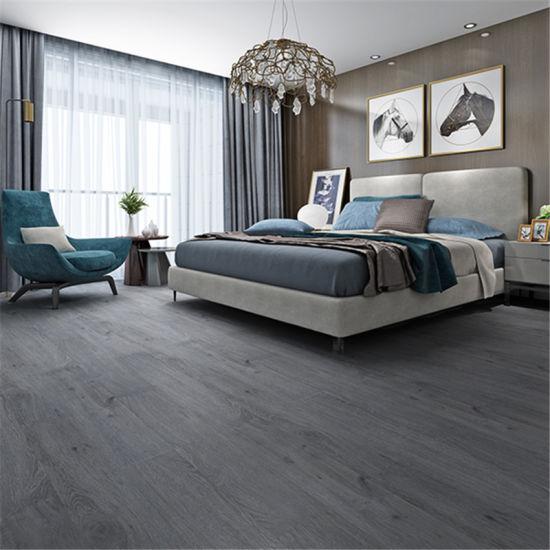 Skidproof Warm Color Wood Texture Spc