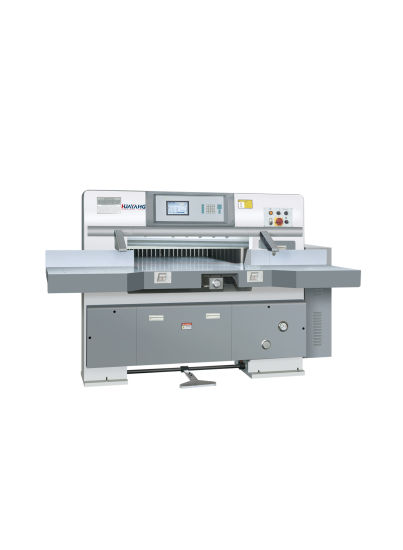 Program Controlled Paper Cutting Machine 920/Guillotine with Microcomputer Control System