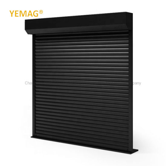 China Motorized Aluminum Roller Shutter for Residential Commercial and Industrial Use