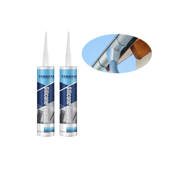 Good Weatherable Clear Color Gutter and Roof Neutral Silicone Sealant  (7085-85-0)