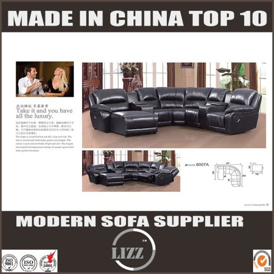 Modern High End Fashion Leather China Recliner Sofa Pictures Photos