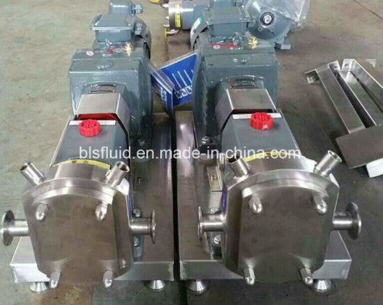 Food Grade Stainless Steel Syrup Candy Transfer Pump pictures & photos
