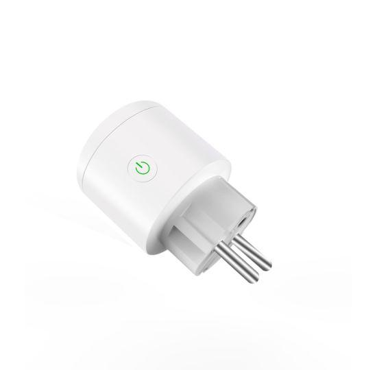 Bsd34 EU Standard Alexa Smart Plug Timer Switch Socket with Wireless APP Remote Control WiFi Wall Outlet