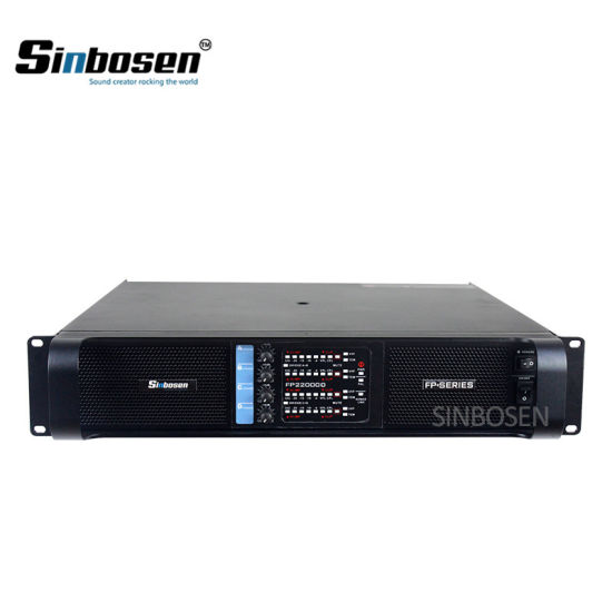 Sinbosen Power Amplifier Price Professional PRO Amplifier Fp22000q Audio  Power Amplifier
