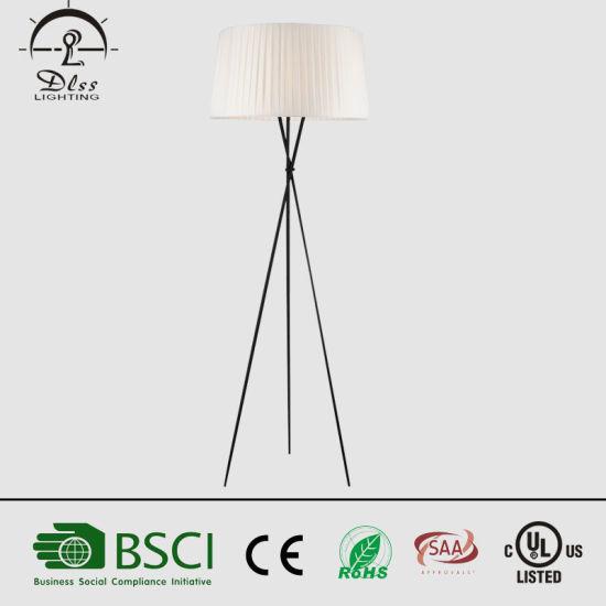 brand new f06a7 86179 Hotel Project Lighting Three Legs Black Floor Lamp