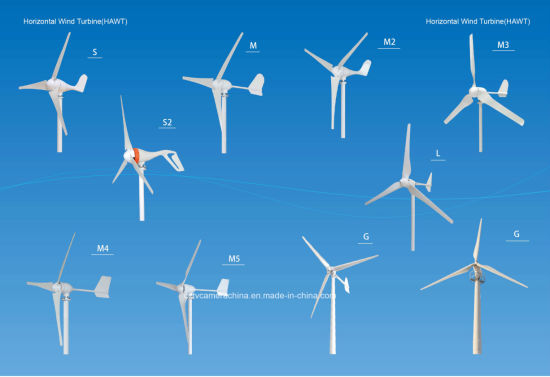 400watt 24V Small Horizontal Wind Generator (SHJ-400M) pictures & photos