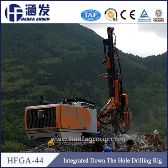 Hfga-44 Surface Rotary Hammer Drilling Rigs pictures & photos