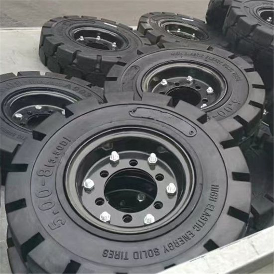 Industrial Tire, Forklift Tyre With 5.00-8