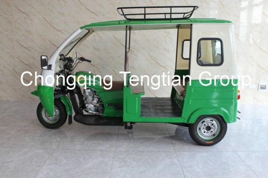 Keke Passenger 3 Wheel Motorcycle Rickshaw Cargo Loader Van