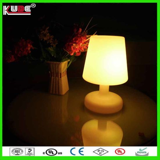 Led Table Lamp Gift Eyecatching Battery Operated Lamp