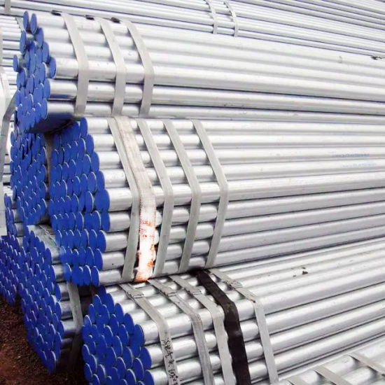 Construction Materials ANSI C80.3metallic Tubing EMT Conduit Galvanized Steel Pipe for Cable Protection