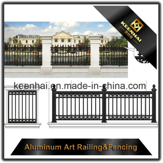 2018 New Aluminum Metal Garden Fence Panels Prices With Good Quality