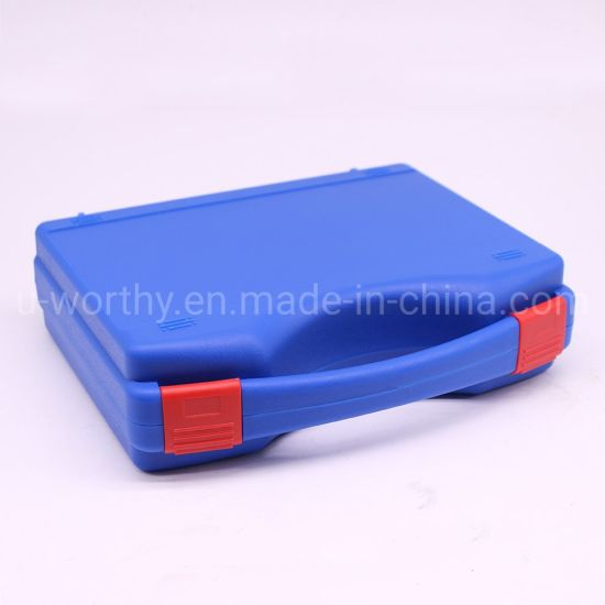 OEM Wholesale Plastic Carrying Equipment Tool Case with Inner Foam