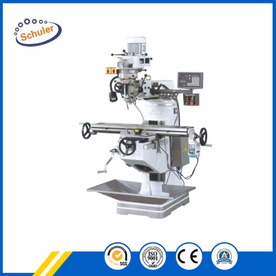X6325 Turret Milling Machine with Ce Approved Universal Milling Machine