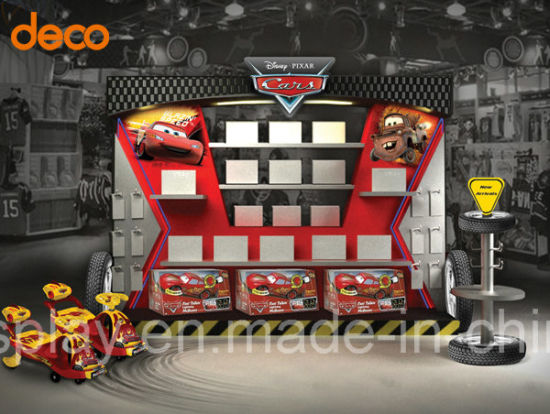 Supermarket Promotional Paper Cardboard Display Stand pictures & photos