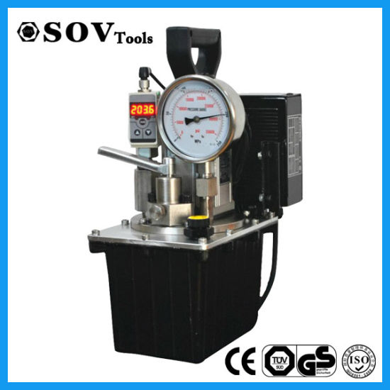 Ultra High Pressure Electric Hydraulic Pump (SV15BD series) pictures & photos