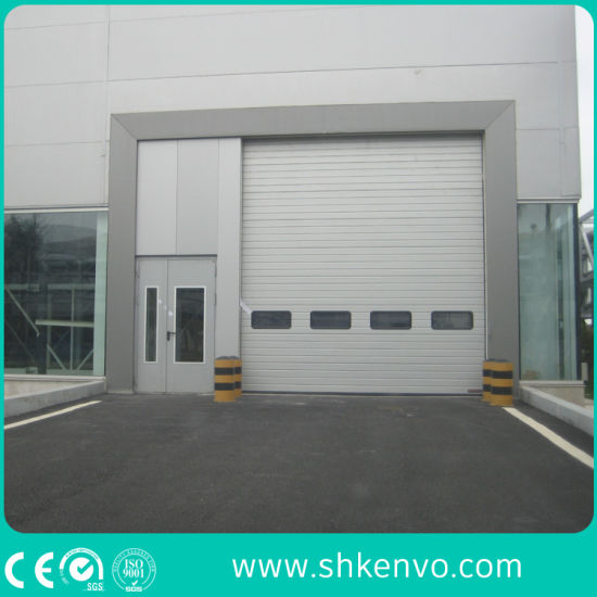 Automatic Overhead Sectional Garage Door with Small Wicket Door & China Automatic Overhead Sectional Garage Door with Small Wicket ...