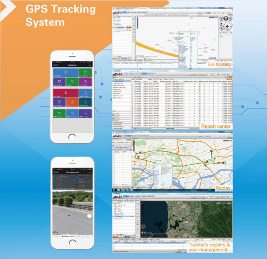 China OBD GSM/GPRS Car Vehicle Tracker GPS with Ios/Android