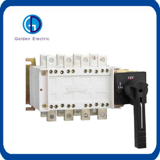 China Electric 4 Pole Manual Transfer Switch 1A to 3200A - China ...