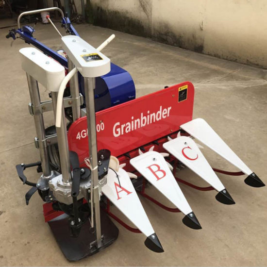 Automatic High Power Diesel Type Grainbinder Harvester Machine for Lavender