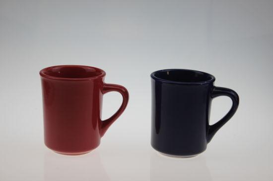 8.5 Oz Wholesale Ceramic Mug with Colorful Glaze