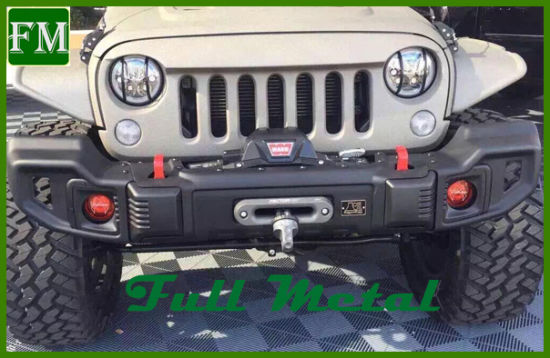 Jeep Wrangler Accessories 2017 >> Front Steel Spartacus Bumper Bar For Jeep Wrangler 2007 2017