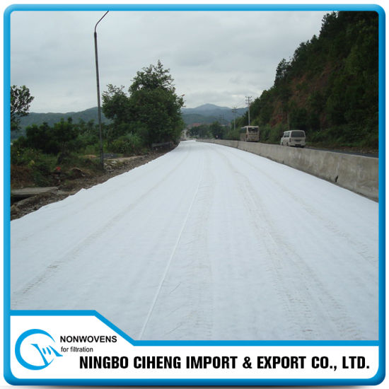 Cheap Price High Tensile Strength Polypropylene Nonwoven Geotextile for Roads