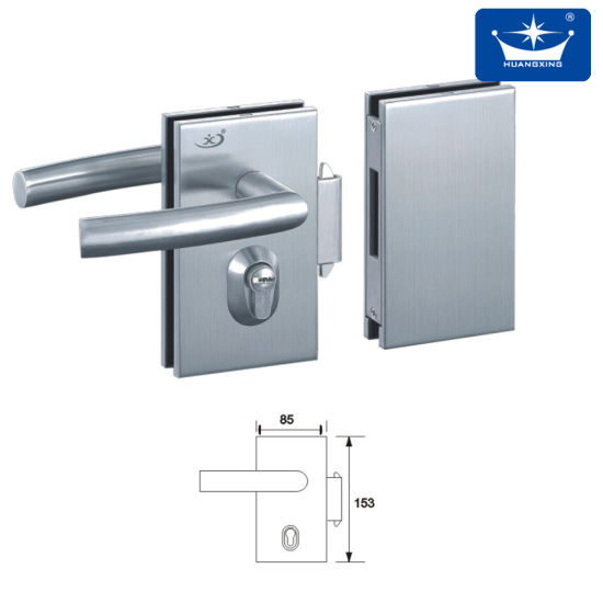 China High Quality Doublesingle Door Glass Door Lock China Lock