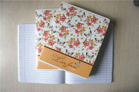 Cheap Bulk Stationery Custom Print School Student Exercise Book Notebook pictures & photos