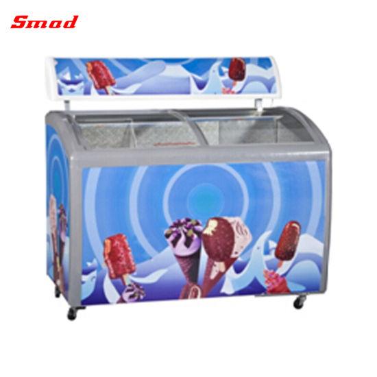 Ice Cream Freezer Glass Door Freezer Prices