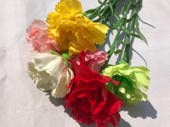 China high quality real touch artificial flowers fake carnation for high quality real touch artificial flowers fake carnation for wedding home decoration accessories junglespirit Image collections