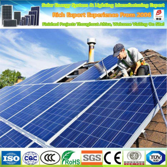 Top One Solar Panel Supplier 310W 320W Poly Solar Panel
