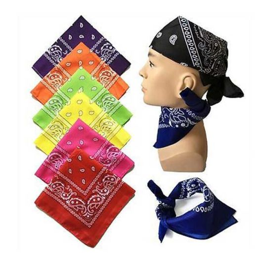 High Quality All Size Polyester Other Materials Head Scarf Custom