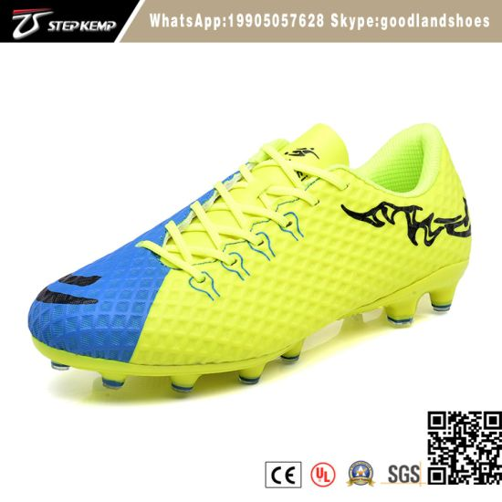 Outdoor Men New Model Soccer Shoe Professional Football Boots Exf-7148